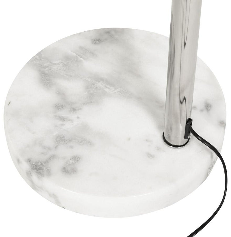 Loft - Arched Lamp With Chrome Structure and Marble Base - HM_FURNITURE