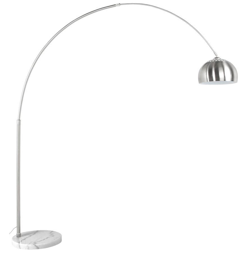 Verando - Brushed Steel Arched Lamp 245 CM - HM_FURNITURE