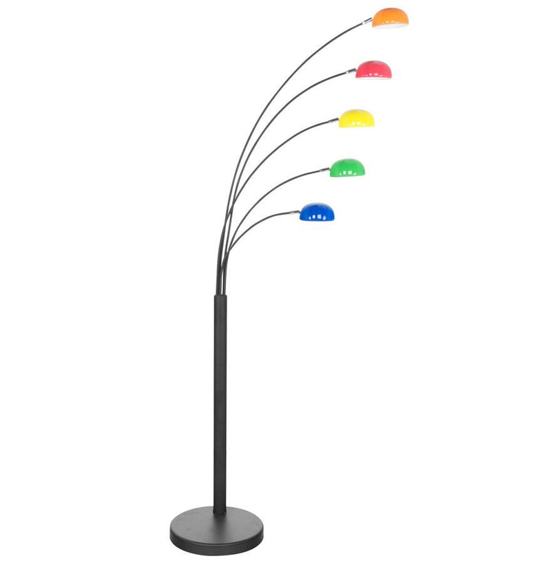 Alonzo - Contemporary Floor Lamp With 5 Orientable Shades 200 CM - HM_FURNITURE