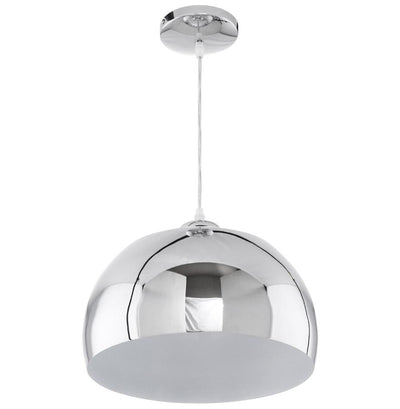 Reflexio - Chrome Steel Ceiling Lamp With Adjustable Cord 20 CM - HM_FURNITURE