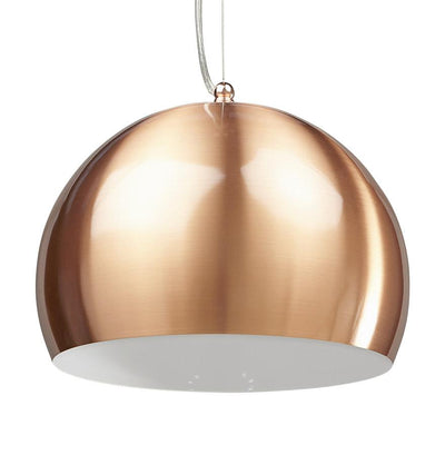 Height Adjustable Copper Painted Hanging Lamp - HM_FURNITURE