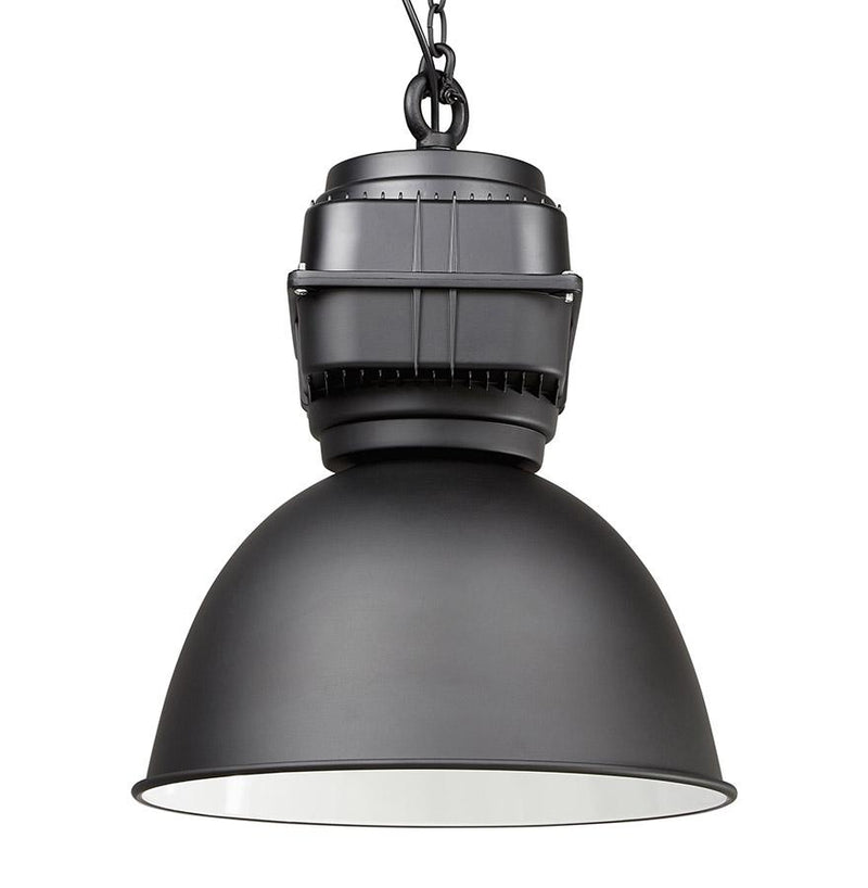 Trek 2 - Hanging Lamp With Dome Shaped Metal Lampshade - HM_FURNITURE