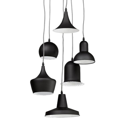 Paganini - Ceiling Lamp With 6 Different Shades - HM_FURNITURE