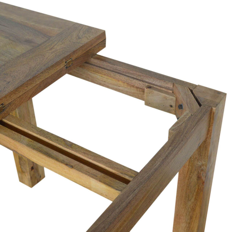 Handcrafted Extendable Dining Table - HM_FURNITURE