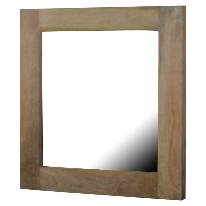 Handcrafted Solid Wood Mirror - HM_FURNITURE