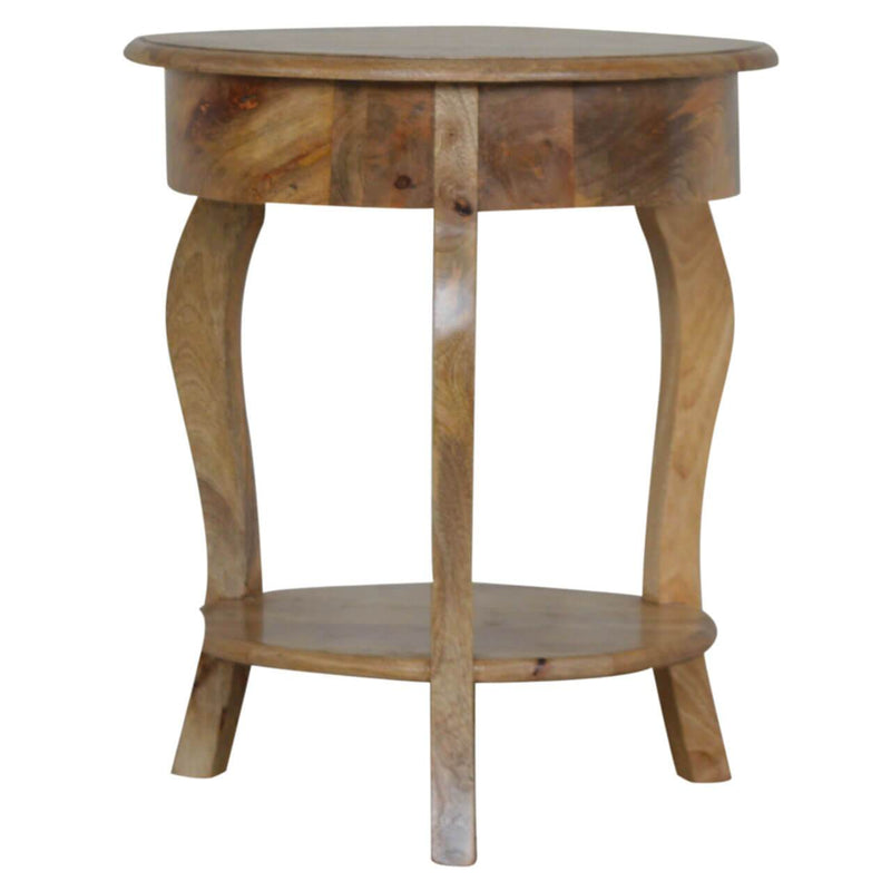 Handcrafted Victorian Style Bedside Table With 1 Drawer - HM_FURNITURE