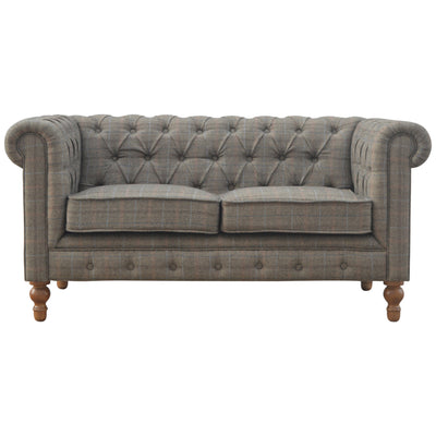 Handcrafted Multi Tweed Sofa - HM_FURNITURE