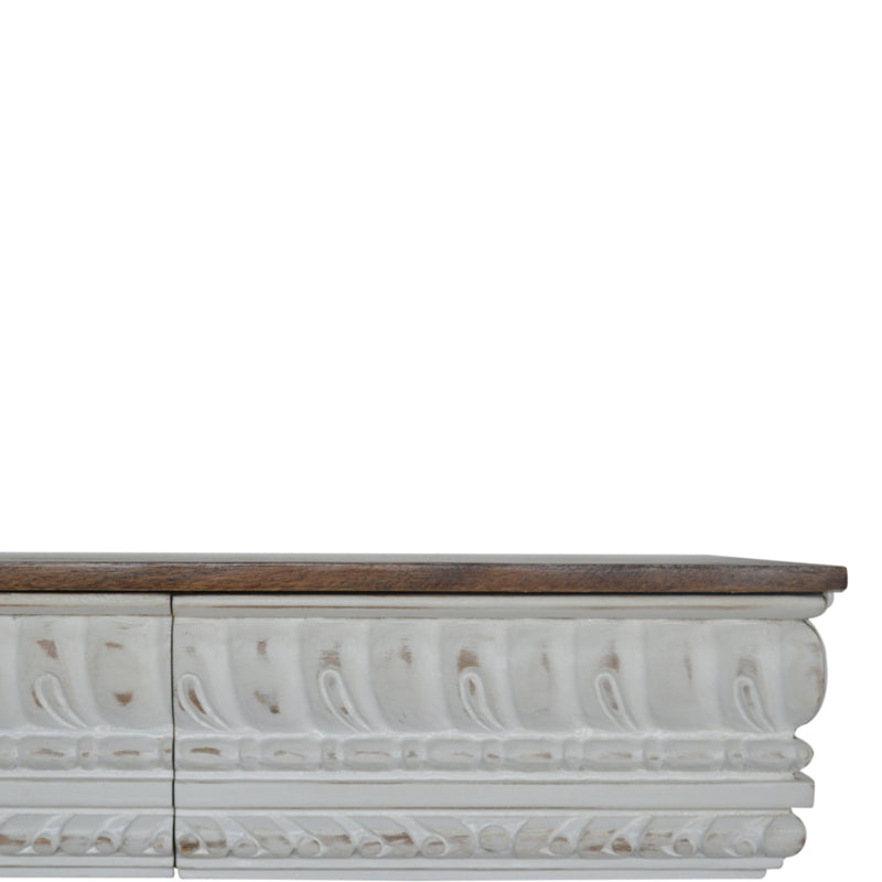 Honey Rich 3 Drawer Console Table