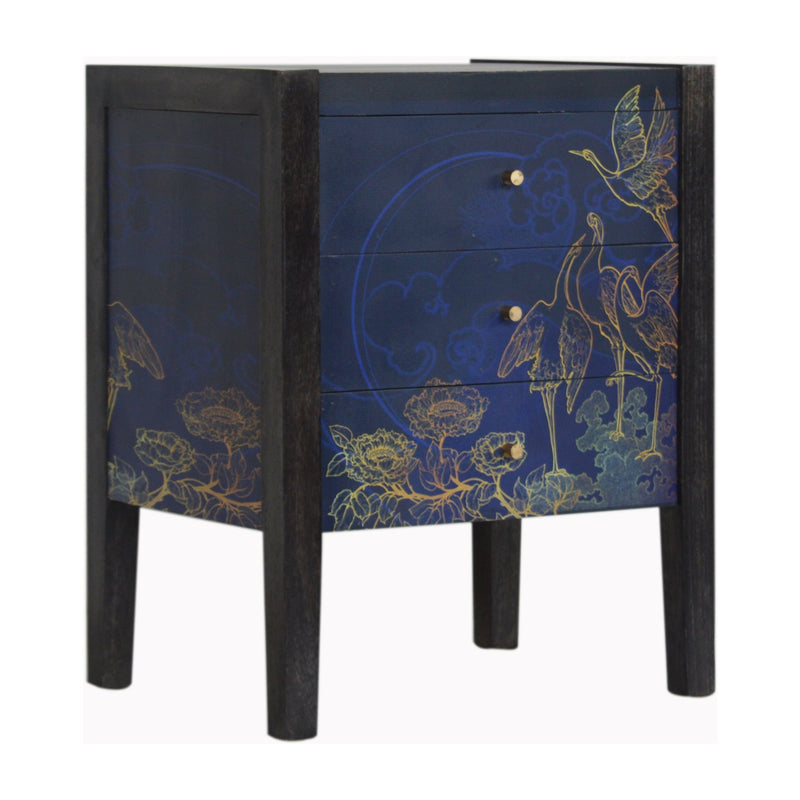 Night Bird UV Print Bedside