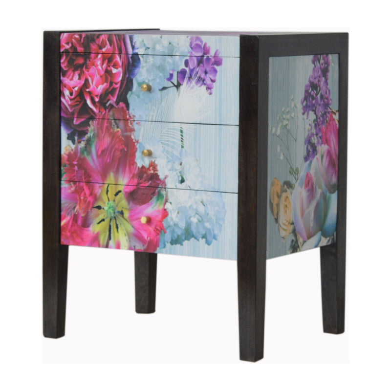 Denes - 3 Drawer Bedside