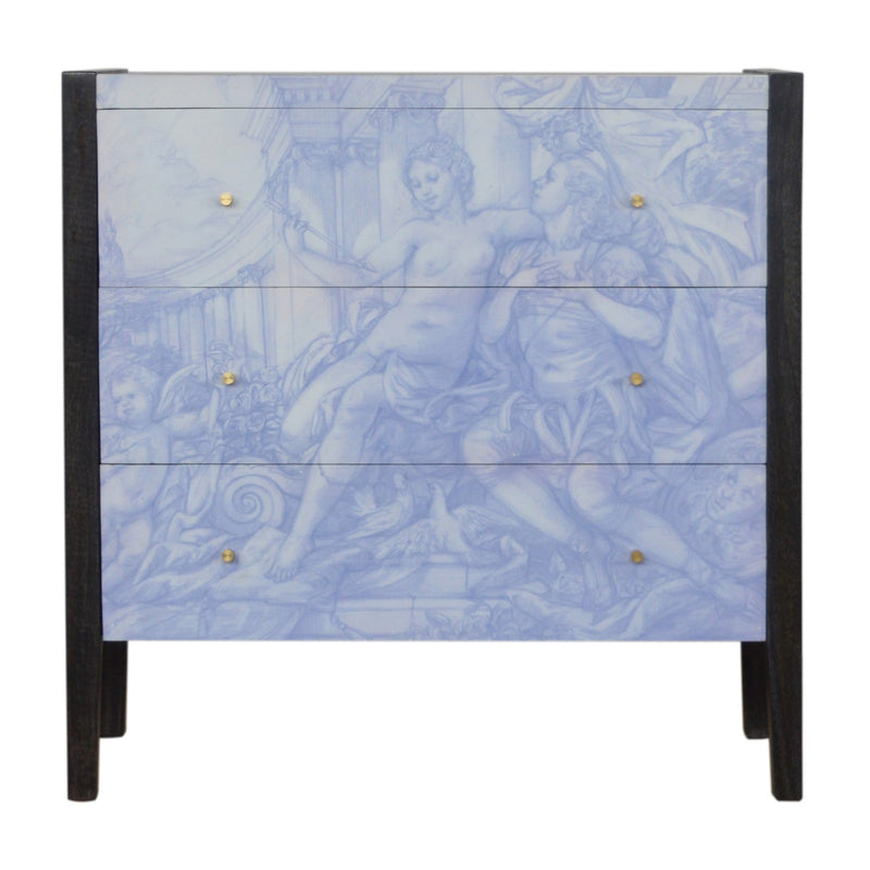 Garden Of Venus 3 Drawers Chest
