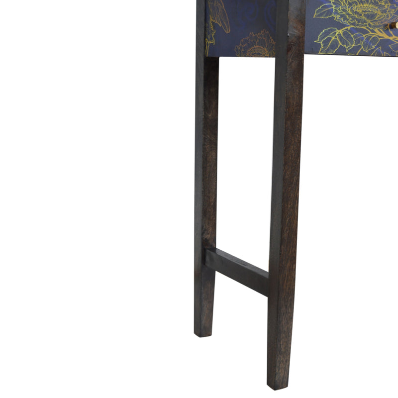 Night Bird UV Print Console Table