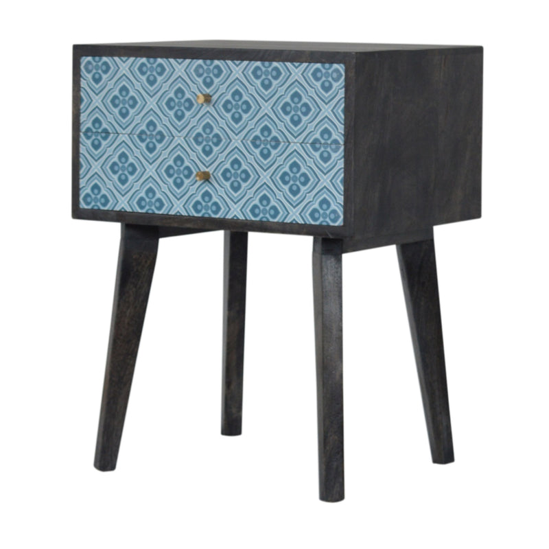 Deion - 2 Drawer Bedside