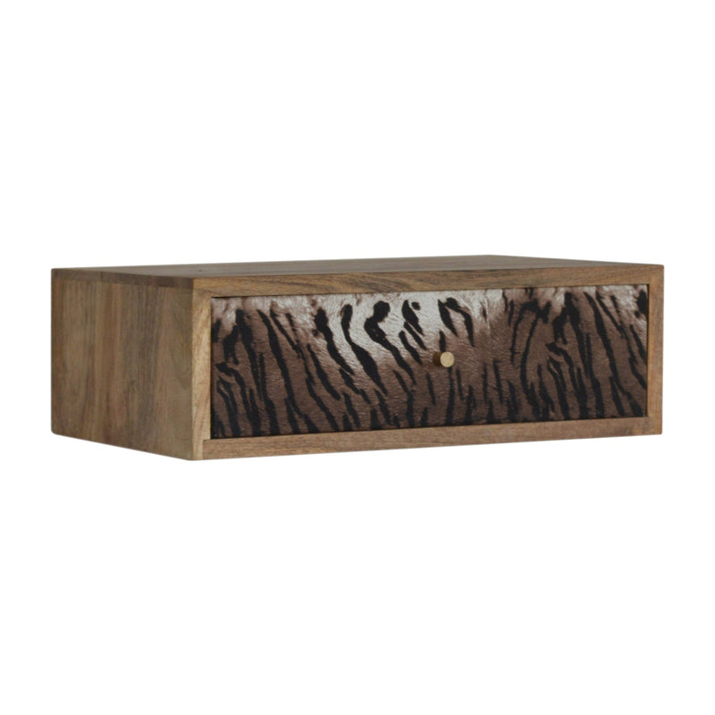 Elna - 1 Drawer Bedside, Animal Print
