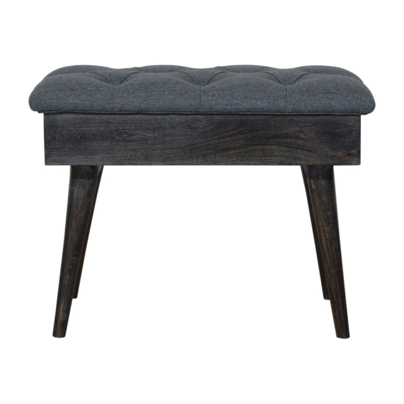Velvet Seat Lid-Up Bench