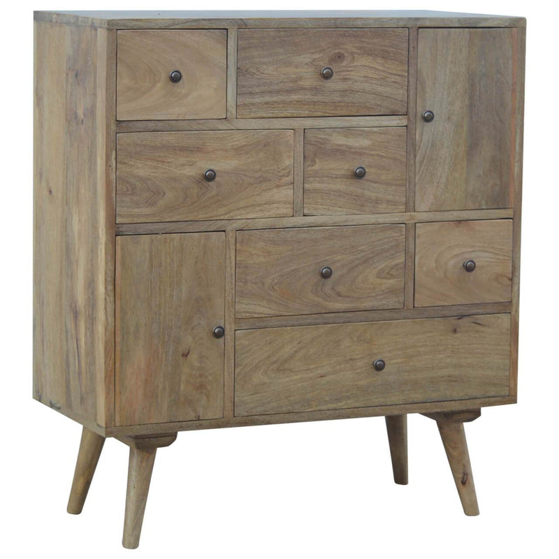 Handcrafted Chest With 9 Drawers - HM_FURNITURE