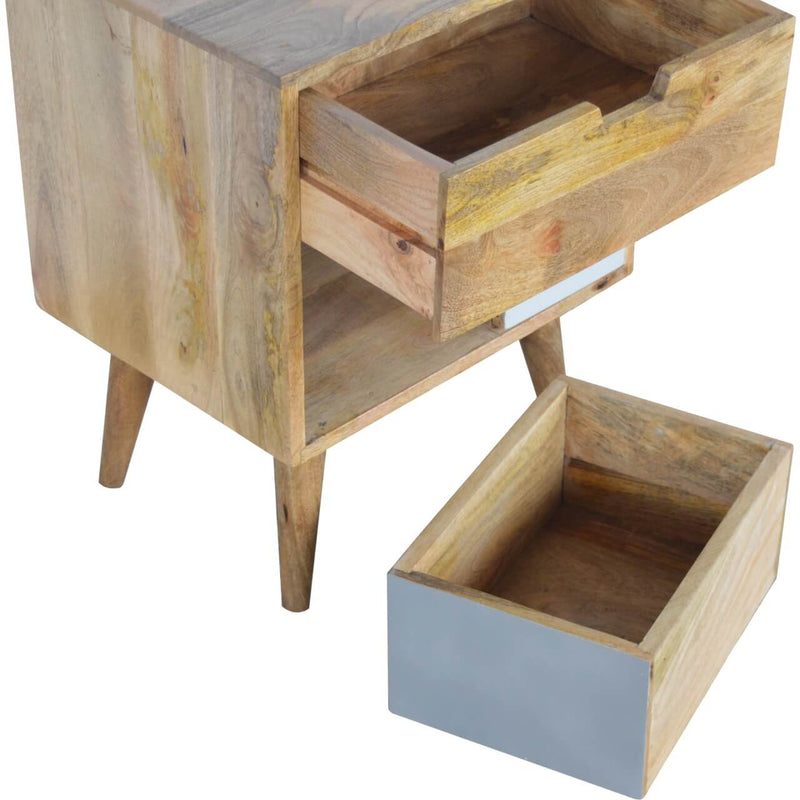 Handcrafted Cabinet With Removable Drawers - HM_FURNITURE