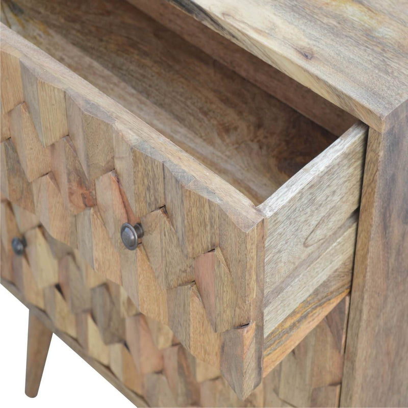 Handcrafted 3 Chest Of Drawers - HM_FURNITURE