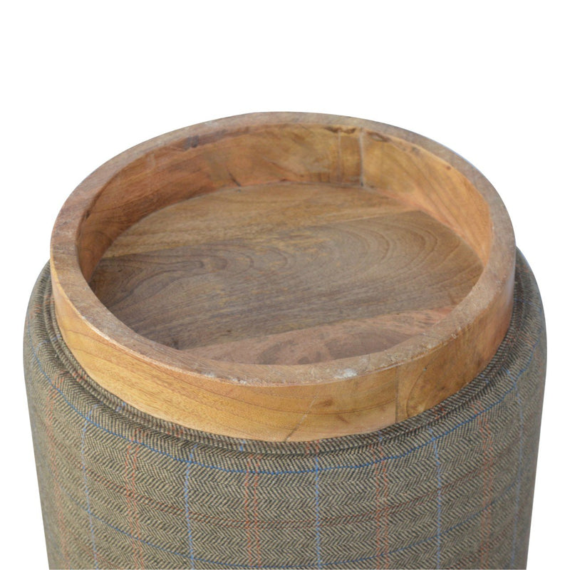 Handcrafted N-3 Natural Foot Stool - HM_FURNITURE