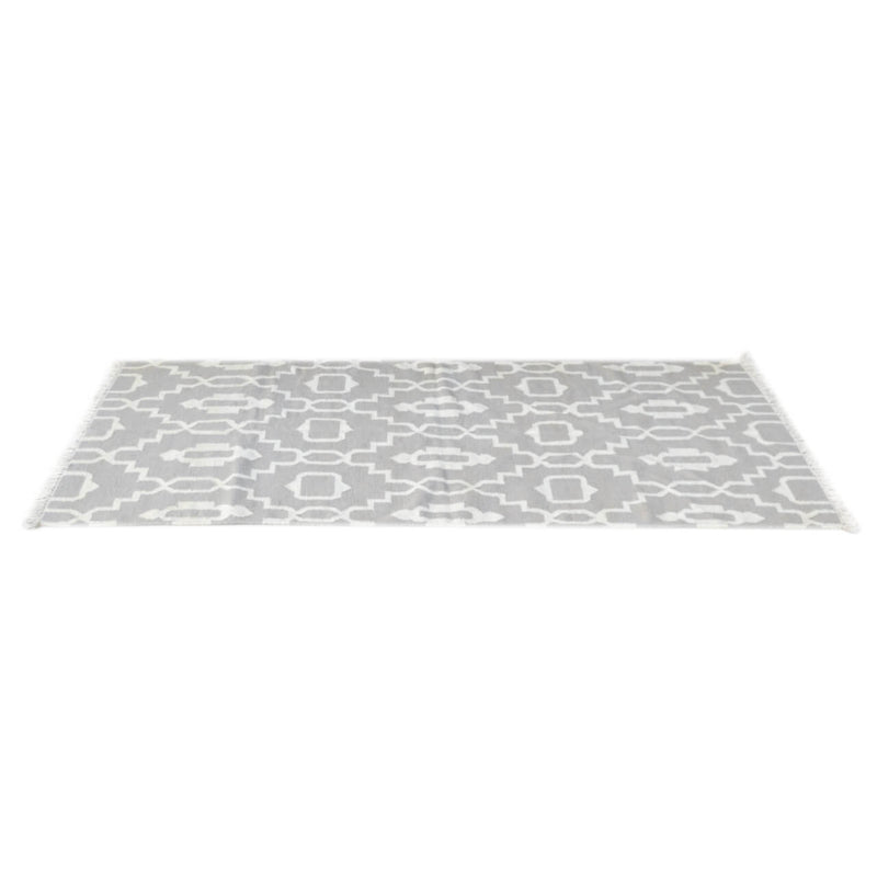 Hand Tufted 100% Cotton Grey Rug - HM_FURNITURE
