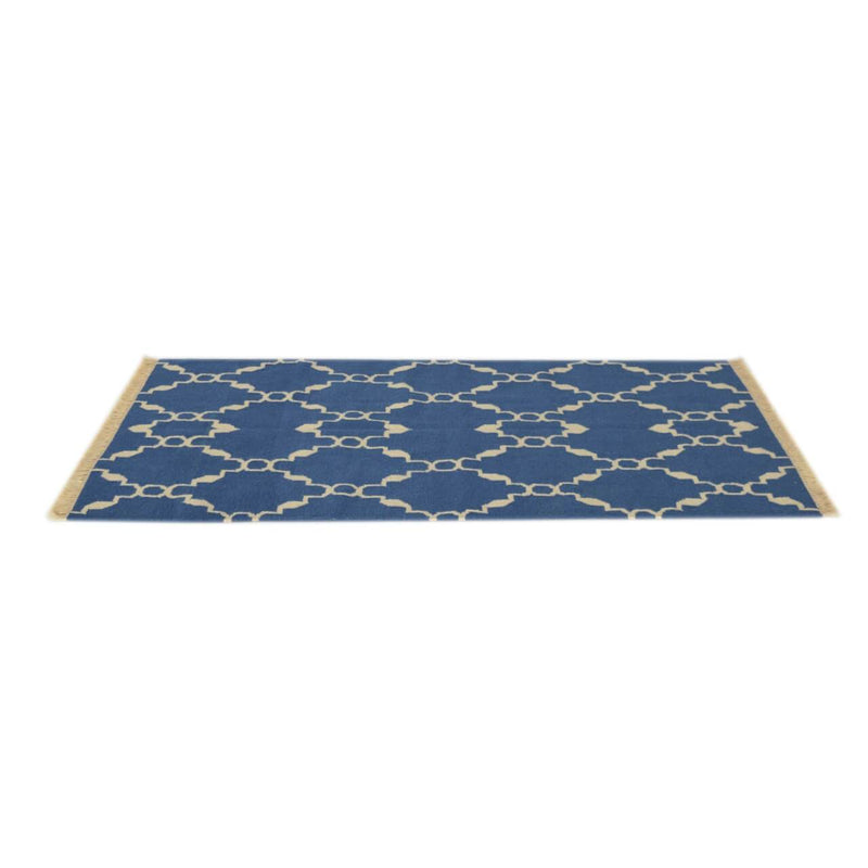 Hand Tufted 100% Cotton Blue Rug - HM_FURNITURE