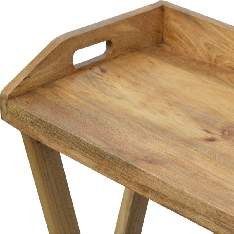Handcrafted Foldable Butler Tray - HM_FURNITURE