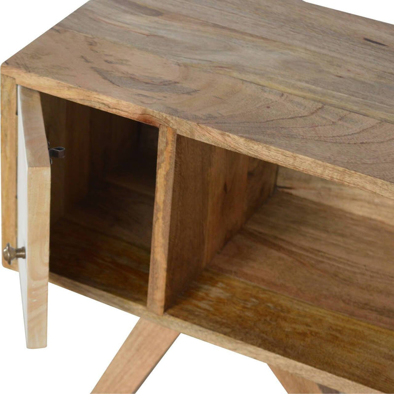 Handcrafted Tripod Bedside Table - HM_FURNITURE