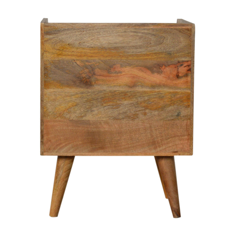 Sunrise 1 Drawer 1 Shelf Bedside, Oak