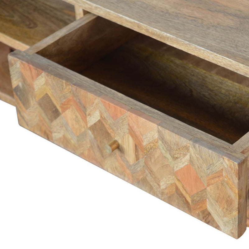 Handcrafted Assorted Media Unit - HM_FURNITURE