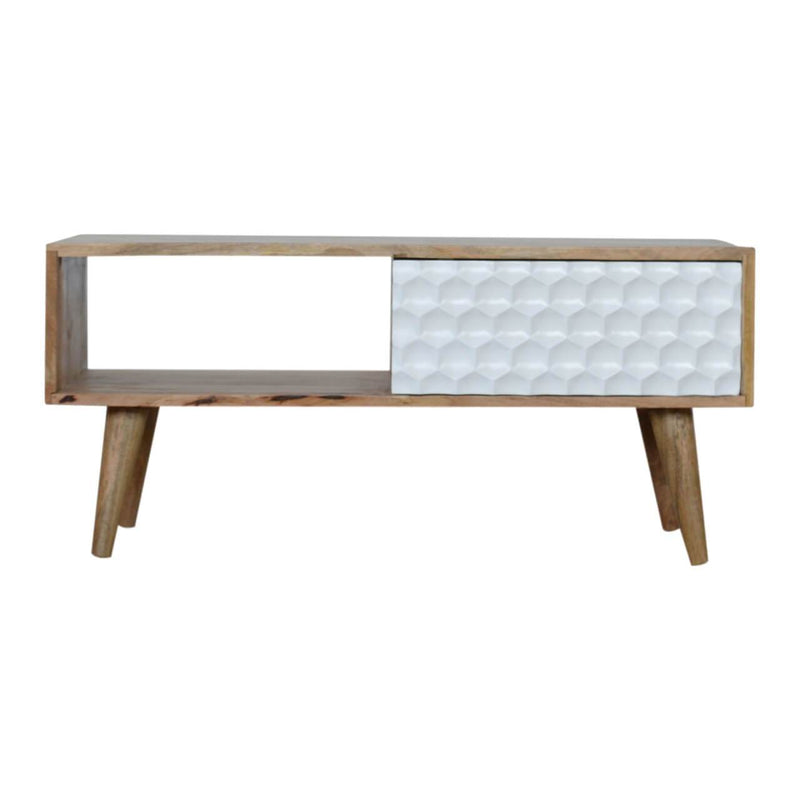 Honeycomb Handcrafted Contemporary Coffee Table - HM_FURNITURE