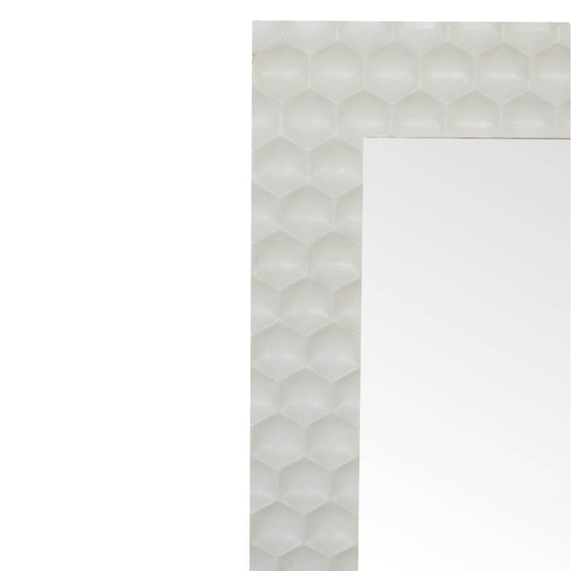 Handcrafted Honeycomb Mirror - HM_FURNITURE