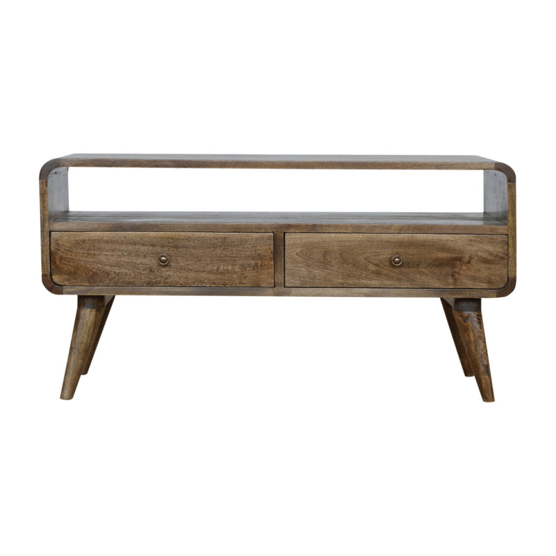 Elna - 1 Drawer Coffee Table, Grey Wash