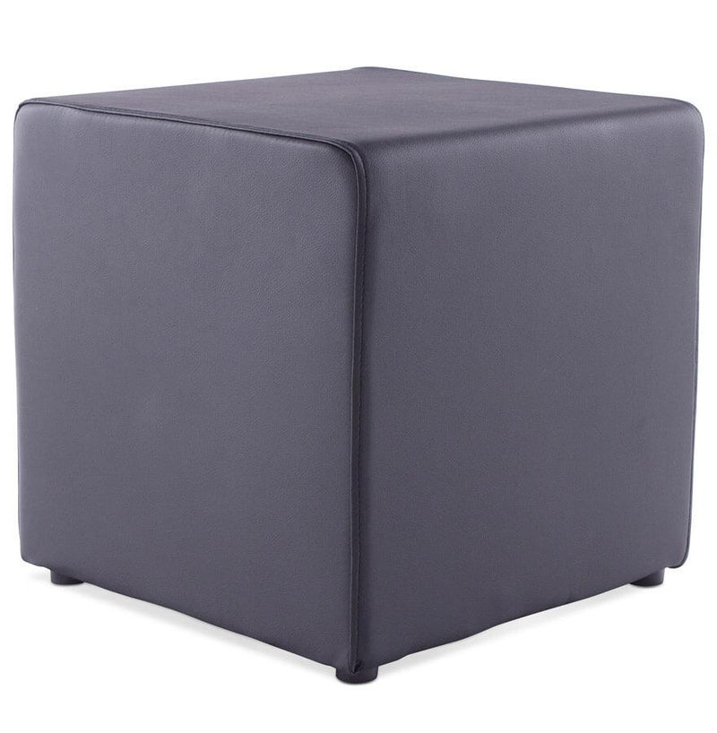Multi Use Faux Leather Designer Stool 41 CM - HM_FURNITURE