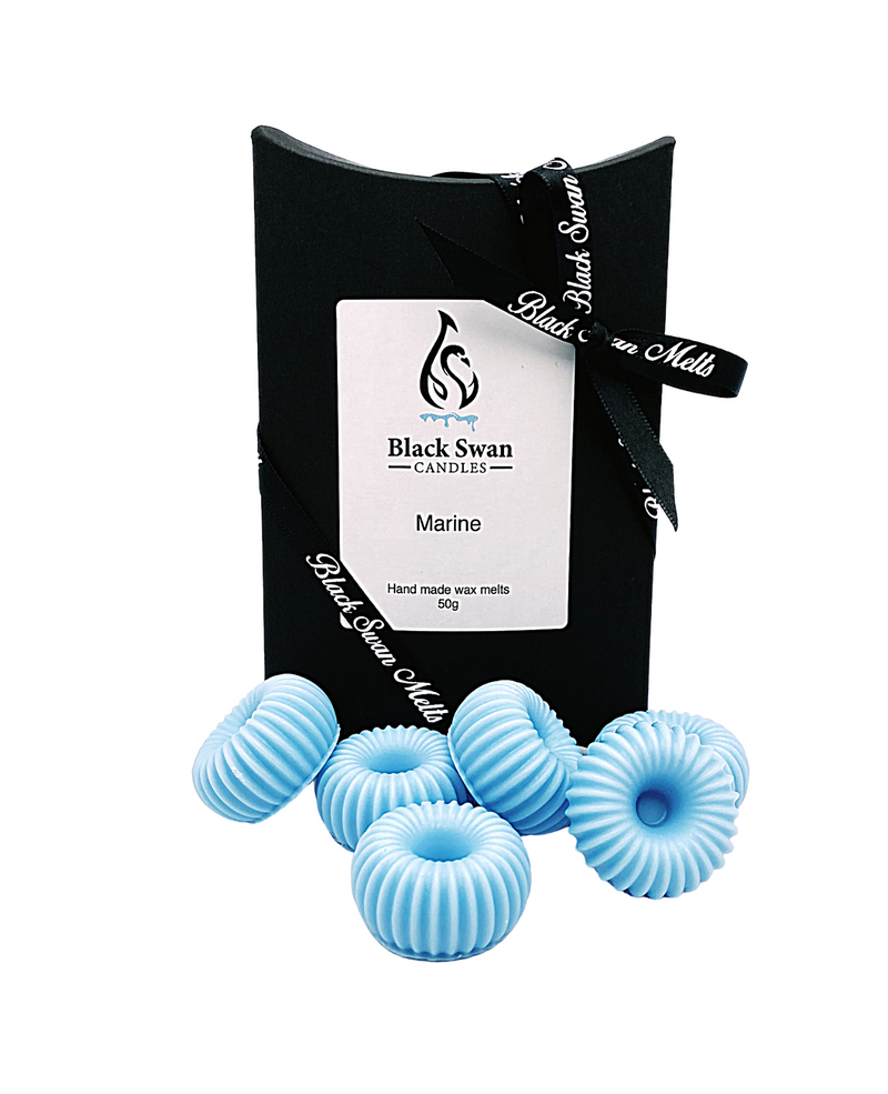 Black Swan Candles - Marine Wax Melts