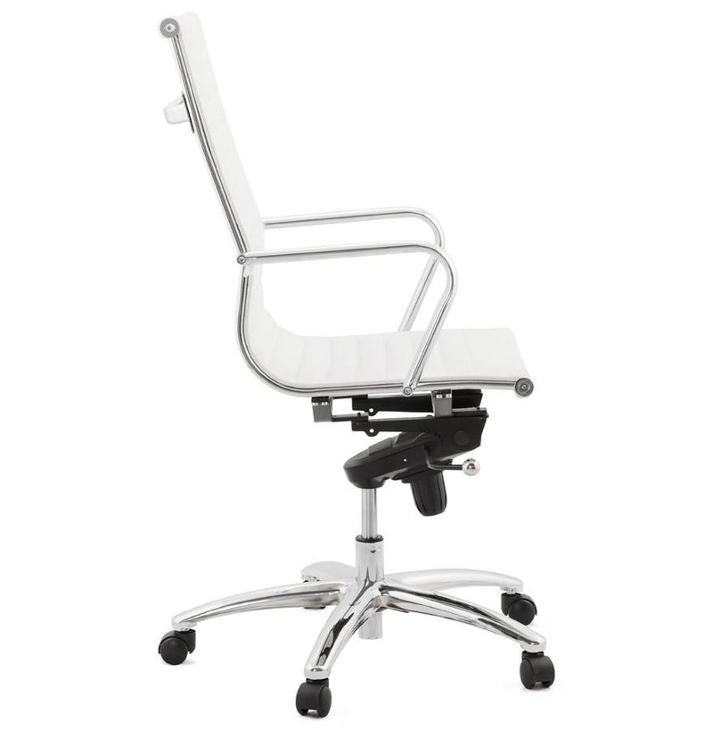 Alessandro - Modern White Office Chair - HM_FURNITURE