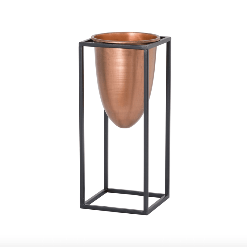 Copper Bullet Planter