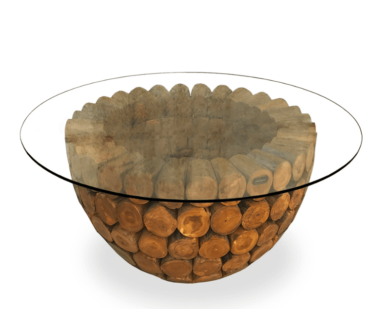 Rustic Bowl Coffee Table