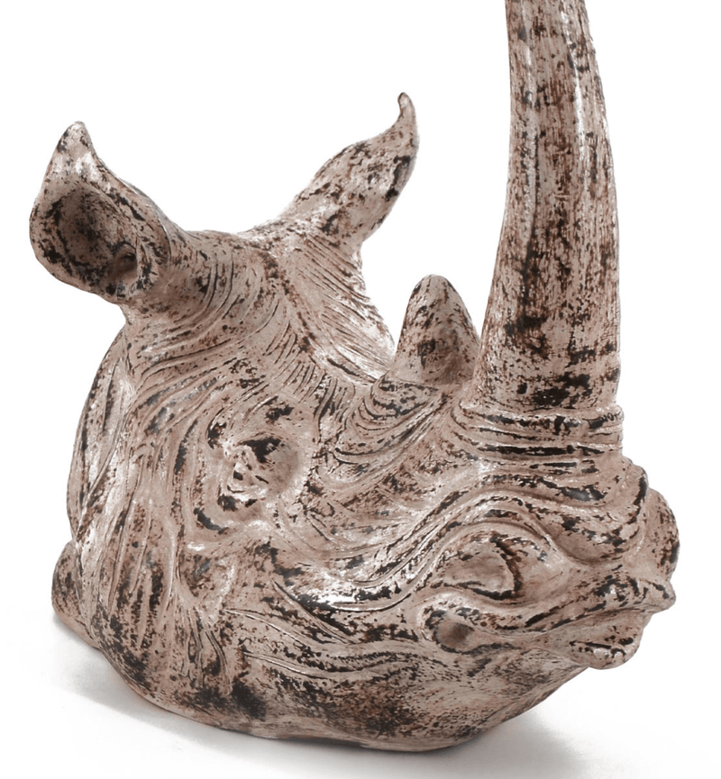 Rhino Figure, Terracotta