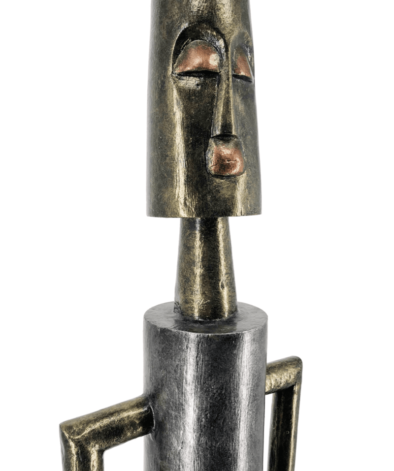 Eos - Lighting Conductor Figure, Albasia Wood
