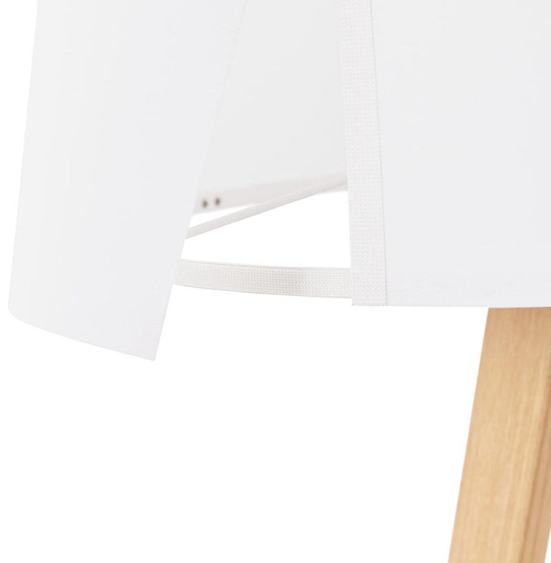 Scandinavian Inspired Design Lamp With Wooden Legs 64 CM - HM_FURNITURE