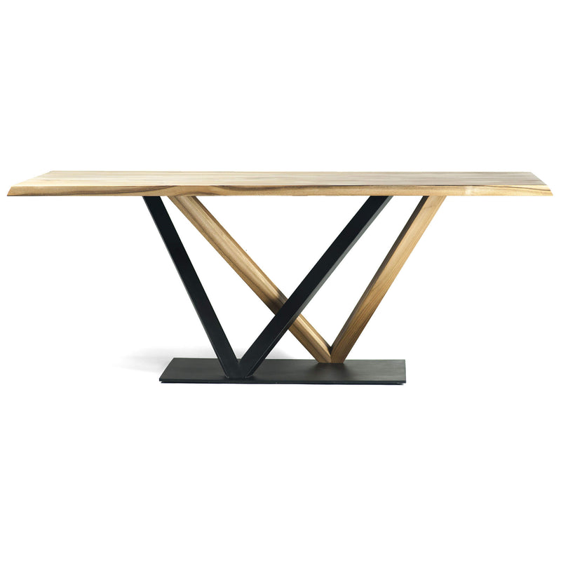 Elise Dining Table, Oak & Iron