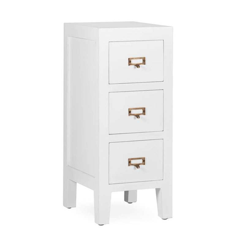 Everest - 3 Drawer Bedside Table