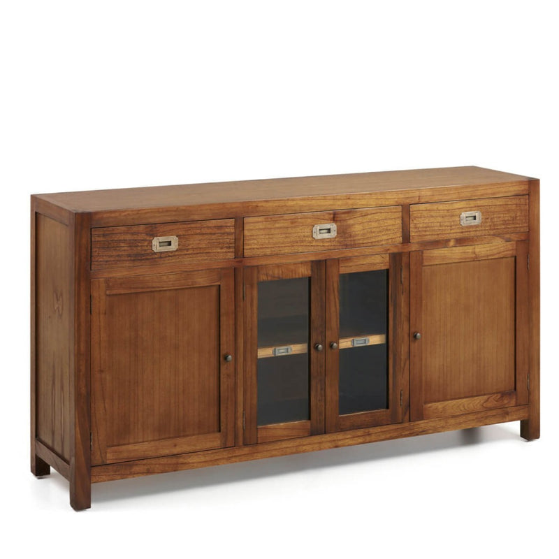 3 Drawer 4 Door Buffet