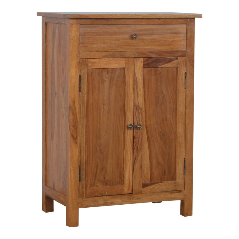 Indian Rose Wood 2 Door 1 Drawer Cabinet