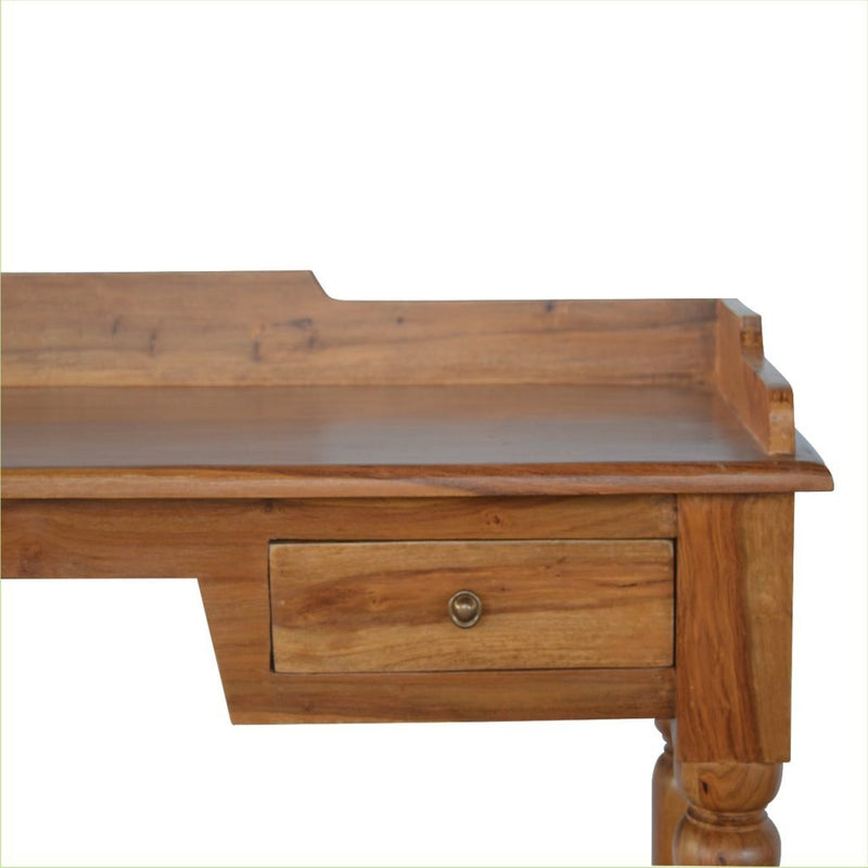 Rose Wood 2 Drawer Desk