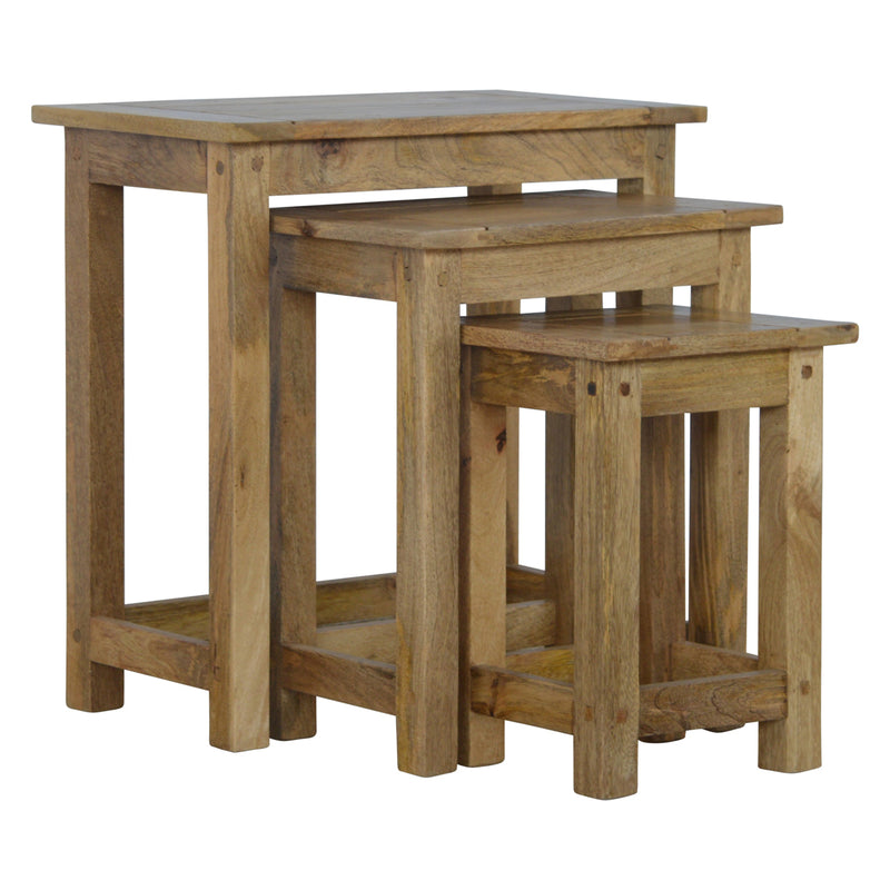 Mango Wood Nest Of Tables