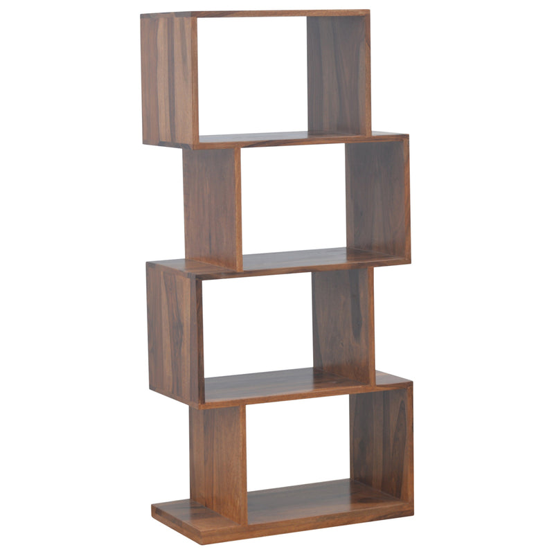 Indian Rose Solid Wood Display Shelf 125cm