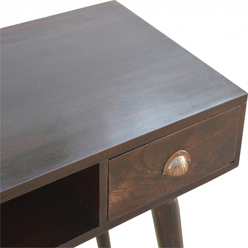1 Drawer Console Table, Walnut