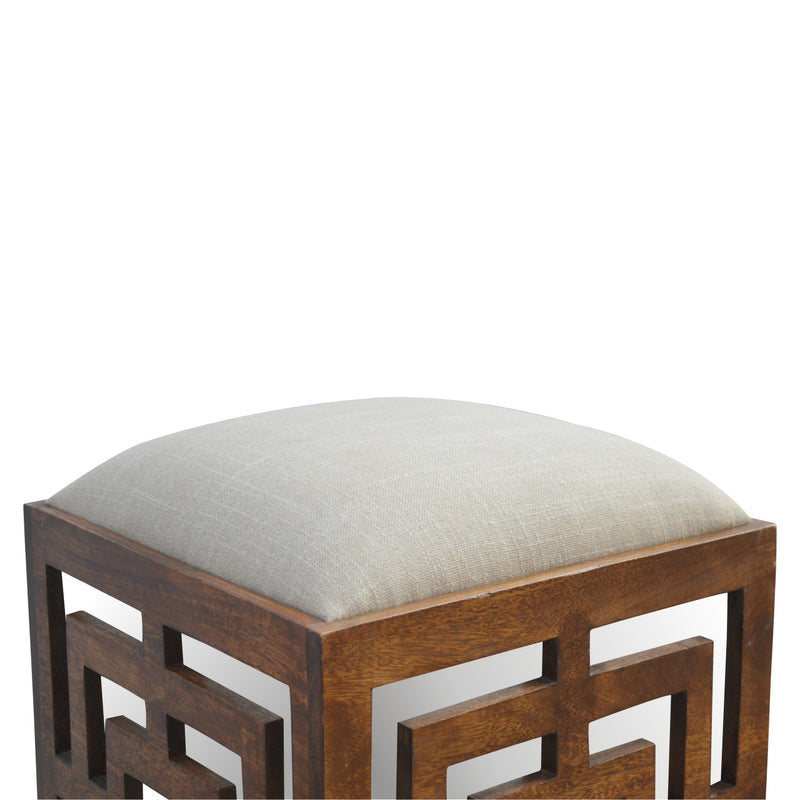 Geometric Patterns Stool