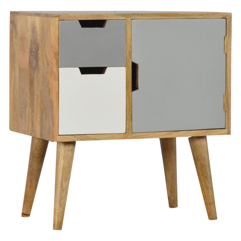 2 Drawer 1 Door Gradient Cabinet